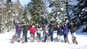 【報告】豊富温泉スノーシューハイクを開催しました!!