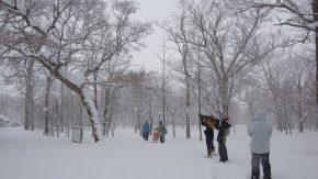 サロベツ☆スノーハイク(3/10開催)の下見に行ってきました!