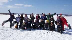 【報告】サロベツ☆スノーハイク(兜沼)を開催しました