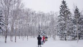 【報告】豊富温泉スノーシューハイクを開催しました
