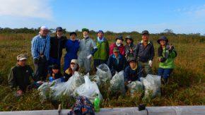 【活動報告】10/10(土)幌延ビジターセンターでササ刈りを行いました。