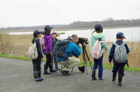 【報告】春の渡り鳥観察会