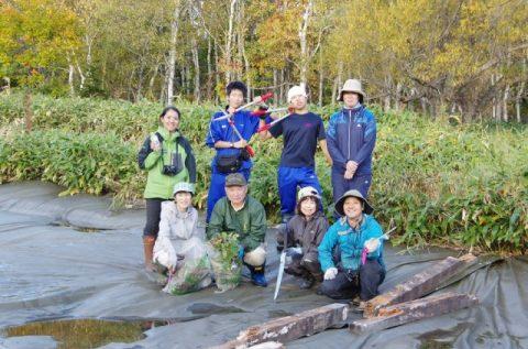 【報告】サロベツ湿原センター周辺の景観維持管理作業を実施しました