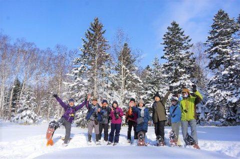 【報告】 豊富温泉・冬の森スノーシューが開催されました!